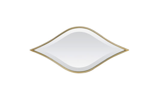 Light & Living 7310685 - Spiegel 63,5x2x30 cm MARRAK hell gold