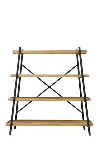 Light & Living 6760184 - Stellage 4 Schichten 150x38x150 cm ESPERIA Holz