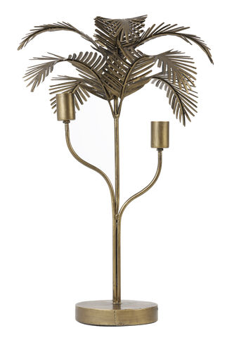 Light & Living 1854123 - Tischleuchte Ø44x68 cm PALM antik bronze
