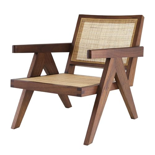 EICHHOLTZ Chair Aristide * Classic brown | rattan cane webbing