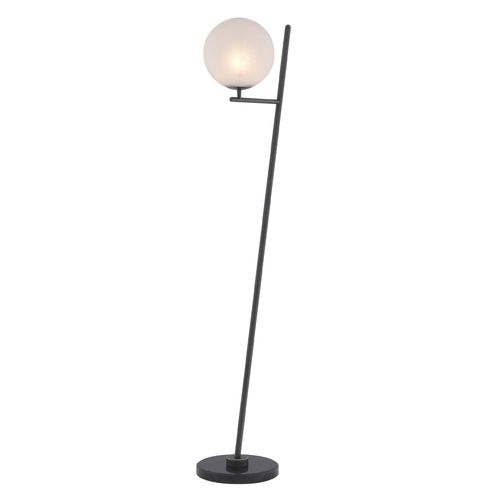 EICHHOLTZ Floor Lamp Flynn * Bronze highlight finish | black marble base