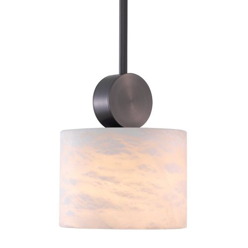EICHHOLTZ Pendant Etruscan Round * Bronze highlight finish | alabaster
